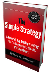 """Day Trading eBook """"The Simple Strategy"""" by Markus Heitkoetter"""